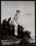 "Movie Posters:Action, Alan Ladd (Paramount, 1942). Photo (9.5"" X 12.5""). Action.. ..."