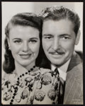 "Movie Posters:Comedy, Ginger Rogers and Ronald Colman in Lucky Partners (RKO, 1940).Portrait Photo (10.5"" X 13""). Comedy.. ..."