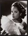 "Movie Posters:Romance, Merle Oberon in Lydia by Robert W. Coburn (United Artists, 1941). Portrait Photo (10.5"" X 13.25""). Romance.. ..."