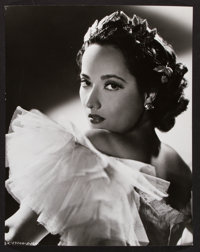 "Merle Oberon in Lydia by Robert W. Coburn (United Artists, 1941). Portrait Photo (10.5"" X 13.25""). Romance..."