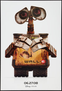 """WALL·E (Walt Disney Pictures, 2008). One Sheet (27"""" X 40"""") DS Advance. Animation"""