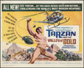 "Movie Posters:Adventure, Tarzan and the Valley of Gold and Other Lot (AmericanInternational, 1966). Half Sheets (2) (22"" X 28""). Adventure.. ...(Total: 2 Items)"