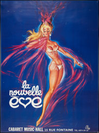 "La Nouvelle Eve (1950s). French Advertising Poster (45"" X 60.5""). Miscellaneous"
