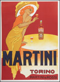 "Movie Posters:Miscellaneous, Martini and Rossi (Tipografia Teatrale Torinese, 1970s). FrenchAdvertising Poster (40.5"" X 55""). Miscellaneous.. ..."