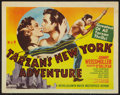 "Movie Posters:Adventure, Tarzan's New York Adventure (MGM, R-1948). Title Lobby Card (11"" X14""). Adventure.. ..."