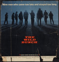 """Movie Posters:Western, The Wild Bunch (Warner Brothers, 1969). Bus Card (21"""" X 22"""").Advance. Western.. ..."""