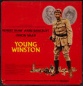 "Movie Posters:Adventure, Young Winston (Columbia, 1972). Bus Card (21"" X 22""). Advance.Adventure.. ..."