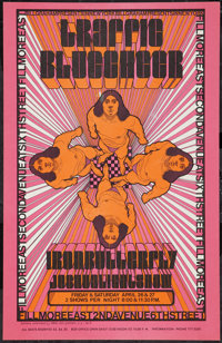 "Traffic at the Fillmore East (Bill Graham, 1968). Concert Poster (14"" X 22""). Rock and Roll"