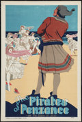 """Movie Posters:Musical, The Pirates of Penzance (Stafford & Co. Ltd., 1910s-1930s). Play Poster (20"""" X 30""""). Musical.. ..."""