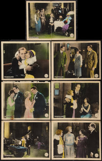 "The Painted Flapper (Chadwick Pictures, 1924). Lobby Cards (7) (11"" X 14""). Romance. ... (Total: 7 Items)"