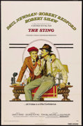 "Movie Posters:Crime, The Sting (Universal, 1974). One Sheet (27"" X 41""). Crime Comedy.Starring Paul Newman, Robert Redford, Robert Shaw, Charles..."
