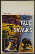 "Movie Posters:Documentary, Tale of the Navajos (Loew's, 1948). Window Card (14"" X 22""). Documentary. Narrated by Edwin Jerome. Written by Harry Chandle..."