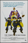 "Movie Posters:Adventure, The Three Musketeers (20th Century Fox, 1974). One Sheet (27"" X41""). Adventure. Starring Christopher Lee, Oliver Reed, Raqu..."