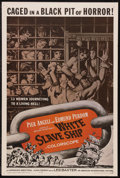 "Movie Posters:Adventure, White Slave Ship (AIP, 1962). One Sheet (27"" X 41""). Adventure.Starring Pier Angeli, Edmund Purdom, Armand Mestral and Ivan..."