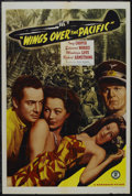 """Movie Posters:War, Wings Over the Pacific (Monogram, 1943). One Sheet (27"""" X 41"""").War. Starring Inez Cooper, Edward Norris, Montagu Love and R..."""