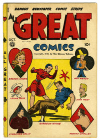 Reno Browne #50 Mile High pedigree (Marvel, 1950) Condition: VF+. Photo cover. Overstreet 2006 VF 8.0 value = $192; VF/N...