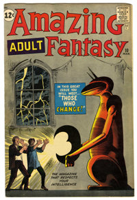 Amazing Adult Fantasy #10 (Marvel, 1962) Condition: FN. Steve Ditko cover and art. Overstreet 2006 FN 6.0 value = $117...