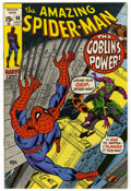 Bronze Age (1970-1979):Superhero, The Amazing Spider-Man #98 (Marvel, 1971) Condition: VF/NM. Green Goblin appearance. Drug story not approved by Comics Code ...