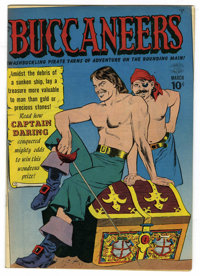 Buccaneers #20 Mile High pedigree (Quality, 1950) Condition: VF. Reed Crandall art. Overstreet 2006 VF 8.0 value = $230...