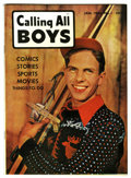 Golden Age (1938-1955):Adventure, Calling All Boys #1 Mile High pedigree (Parents' Magazine Institute, 1946) Condition: NM+. Overstreet 2006 NM- 9.2 value = $...