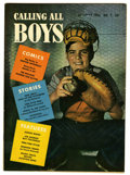 Golden Age (1938-1955):Miscellaneous, Calling All Boys #7 Mile High pedigree (Parents' Magazine Institute, 1946) Condition: NM. Overstreet 2006 NM- 9.2 value = $4...