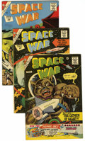 Silver Age (1956-1969):Miscellaneous, Charlton Silver Age Group (Charlton, 1960-63) Condition: Average VG. Includes Space War #9, 16, 17, 19 (robot cover), an... (Total: 21 Comic Books)