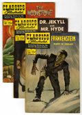 "Golden Age (1938-1955):Classics Illustrated, Classics Illustrated Group (Gilberton, 1944-60) Condition: AverageVG. Includes #13 (""Dr. Jekyll and Mr. Hyde,"" HRN 161, use...(Total: 10 Comic Books)"