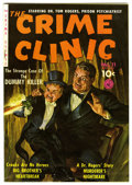 Golden Age (1938-1955):Crime, The Crime Clinic #11 (#2) Mile High pedigree (Ziff-Davis, 1951) Condition: NM-. Painted cover by Norman Saunders. Overstreet...