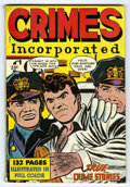 Golden Age (1938-1955):Crime, Crimes Incorporated #nn (Fox Features Syndicate, 1950) Condition: VG-. 132 pages. Overstreet 2006 VG 4.0 value = $86. From...