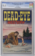Golden Age (1938-1955):Western, Dead-Eye Western Comics V1#9 Mile High pedigree (Hillman Publications, 1949) CGC VF+ 8.5 White pages. Dick Briefer art. Over...