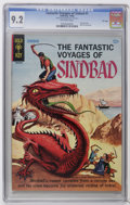 Silver Age (1956-1969):Adventure, Fantastic Voyages of Sindbad #1 File Copy (Gold Key, 1965) CGC NM- 9.2 Off-white pages. Painted cover. Back cover pin-up. Ov...
