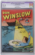 Golden Age (1938-1955):Adventure, Four Color (Series One) #nn (#2) Don Winslow of the Navy (Dell, 1939) CGC Apparent (A) GD+ 2.5 Off-white to white pages. Cop...