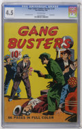 Golden Age (1938-1955):Crime, Four Color (Series One) #7 Gang Busters (Dell, 1940) CGC VG+ 4.5 Off-white pages. Early series one book features Gang Buster...