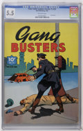 Golden Age (1938-1955):Crime, Four Color (Series One) #23 Gang Busters (Dell, 1942) CGC FN- 5.5 Off-white pages. Overstreet 2006 FN 6.0 value = $117. CGC ...