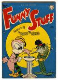"""Golden Age (1938-1955):Funny Animal, Funny Stuff #40 Davis Crippen (""""D"""" Copy) pedigree (DC, 1948)Condition: FN-. Overstreet 2006 FN 6.0 value = $30. From the..."""