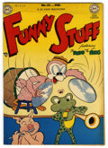 "Golden Age (1938-1955):Funny Animal, Funny Stuff #42 Davis Crippen (""D"" Copy) pedigree (DC, 1949)Condition: VF/NM. Overstreet 2006 VF/NM 9.0 value = $72; NM- 9...."
