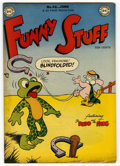 "Golden Age (1938-1955):Funny Animal, Funny Stuff #46 Davis Crippen (""D"" Copy) pedigree (DC, 1949)Condition: FN+. Overstreet 2006 FN 6.0 value = $30; VF 8.0 valu..."