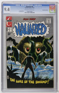 Bronze Age (1970-1979):Horror, Haunted #8 Don Rosa Collection pedigree (Charlton, 1972) CGC NM 9.4Off-white to white pages. Steve Ditko art. Tom Sutton co...