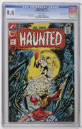 Bronze Age (1970-1979):Horror, Haunted #15 Don Rosa Collection pedigree (Charlton, 1973) CGC NM9.4 White pages. Jack Abel art. Tom Sutton cover. Overstree...