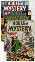Silver Age (1956-1969):Horror, House of Mystery Group (DC, 1960-62) Condition: Average VG. Issuesinclude #96, 97, 99, 100, 103, 104, 106, 107, and 120. Ap...(Total: 9 Comic Books)