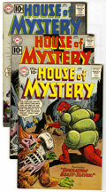 Silver Age (1956-1969):Horror, House of Mystery Group (DC, 1961-64) Condition: Average FN. Issuesinclude #111, 113, 115, 117, 119, 121, 125, 126, 127, 128...(Total: 18 Comic Books)