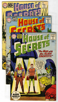 House of Secrets Group (DC, 1961-64) Condition: Average VG/FN. Issues include #42, 46, 47, 48, 49, 50, 51, 52, 53, 54, 5...