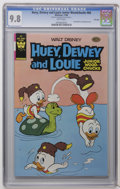 Modern Age (1980-Present):Cartoon Character, Huey, Dewey, and Louie Junior Woodchucks #66 File Copy (Gold Key/Whitman, 1980) CGC NM/MT 9.8 White pages. Distributed in pr...