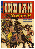 """Golden Age (1938-1955):Western, Indian Fighter #4 Davis Crippen (""""D"""" Copy) pedigree (Youthful Magazines, 1950) Condition: VF+. Walter Johnson cover. Doug Wi..."""