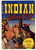 """Golden Age (1938-1955):Western, Indian Fighter #5 Davis Crippen (""""D"""" Copy) pedigree (Youthful Magazines, 1951) Condition: VF+. Doug Wildey cover. Overstreet..."""