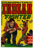 """Golden Age (1938-1955):Western, Indian Fighter #8 Davis Crippen (""""D"""" Copy) pedigree (Youthful Magazines, 1951) Condition: VF/NM. Goldfarb Baer cover. Overst..."""