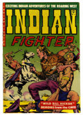 """Golden Age (1938-1955):Western, Indian Fighter #11 Davis Crippen (""""D"""" Copy) pedigree (Youthful Magazines, 1952) Condition: VF-. Overstreet 2006 VF 8.0 value..."""