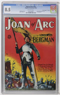 """Golden Age (1938-1955):Non-Fiction, Joan of Arc #nn Davis Crippen (""""D"""" Copy) pedigree (MagazineEnterprises, 1949) CGC VF+ 8.5 Off-white pages. Also known as ..."""