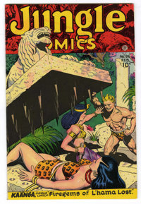 Jungle Comics #86 Mile High pedigree (Fiction House, 1947) Condition: VF/NM. John Celardo, Richard Case, August Froehlic...