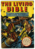 Golden Age (1938-1955):Religious, Living Bible #1 (Living Bible Corp., 1945) Condition: VF-. The lifeof Paul. L. B. Cole cover. Overstreet 2006 VF 8.0 value ...